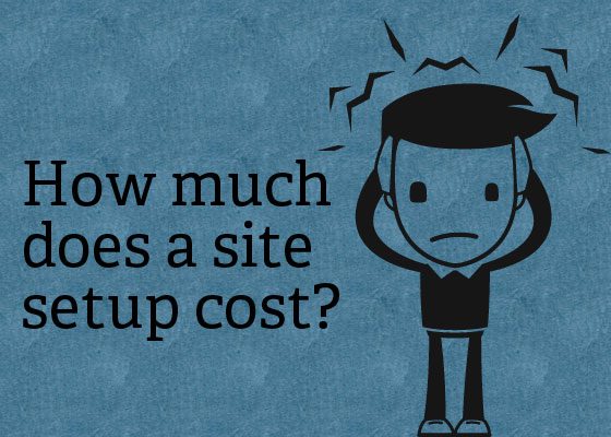 how much does it cost to set up a website